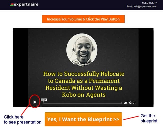 Permanent Residency in Canada Blueprint By Victor Jegede Review a