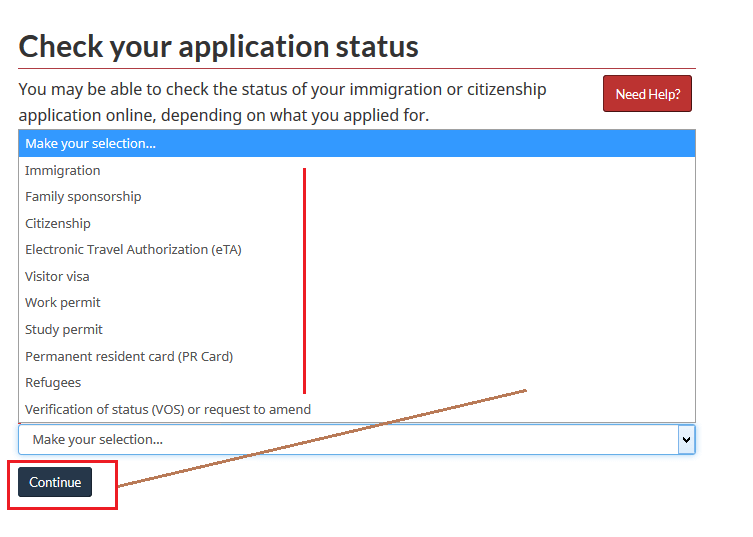 check Express Entry Application Result status